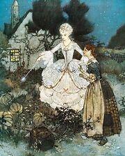 Art print by Dulac Cinderella Home Decor wall hangings poster print 10x8