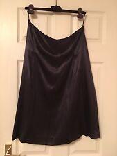 Jil Sander Skirt,new,dark Burgundy.100% Silk,Italy