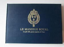 Le Manège Royal - Gravures équestres de France - De Pluvinel.Cheval - Equitation
