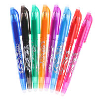 8 Colors 0.5mm erasable pen gel pen school office writing supplies stationeryE3R