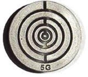 Brain-Y Folien-Aufkleber 5G 2,5cm Durchmesser