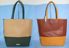 NWT Steve Madden Large Faux Leather Tote & shopper Bag