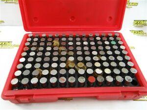 "COMPLETE PRECISION PIN GAGE SET 0.626""-0.750"" M4 MINUS MHC"