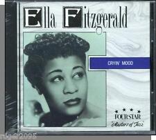 Ella Fitzgerald - Cryin' Mood (1936-39) - New 1989, 18 Song Fourstar CD!