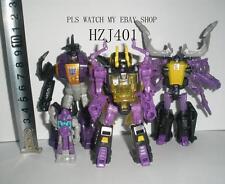 Hasbro TRANSFORMERS Bombshell + TITANS RETURN Kickback + IDW Shrapnel Reflector