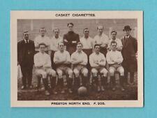 More details for football - pattreiouex - very rare football team card  -  preston  n.  e. - 1922