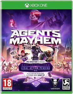 Agents of Mayhem Xbox One New Sealed