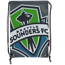 Seattle Sounders FC DoubleHeader Drawstring two sided Soccer Backpack NWT