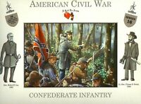 A Call To Arms American Civil War Confederate Infantry Plastic Soldier 1:32