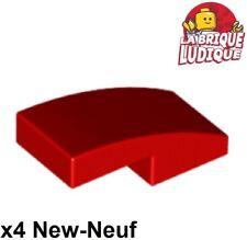 LEGO-Wedge 4 x 6 x 2//3 Triple Courbe Rouge x 1 52031 J117