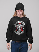 SONS OF SANTA CHRISTMAS JUMPER BIKER XMAS MOTORCYCLE CLUB FUNNY JOKE MC
