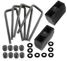"01-2010 Chevy GMC Sierra Silverado 2500HD 1.5"" Rear Lift Block Kit"