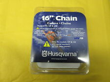 "OEM HUSQVARNA CHAIN 16"" FOR 137 & 142 SAWS 90SG956 PART# 531308147 OR 5313081-47"