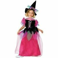 HALLOWEEN FANCY DRESS ~ GIRLS RAINBOW WITCH LG AGE 8-10