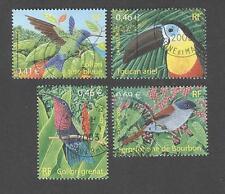 France -Timbres oblitérés - Série Oiseaux N°3548 à 3551
