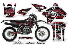 Kawasaki KLX400 Suzuki DRZ400 Graphics Kit Dirt Bike Wrap MX Decals 00-16 SSSH R