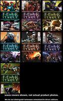 Fear Itself 1 2 3 4 5 6 7 Marvel 2011 Complete Set Run Lot 1-7 VF/NM