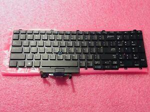 NEW Genuine Dell LATITUDE E5550 E5570 E5580 Backlit US Keyboard TF5M0