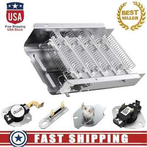 279838 Dryer Heating Element Kit Compatible with Whirlpool Kenmore Roper Maytag