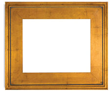 Antique, Classic Style , Gold Leaf with Red Wood Frame, Size 11x14 inches
