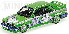 BMW M3 E30 Team Alpina MICHELIN DTM 1988 #23 p.Oberndorfer 1:43 Minichamps