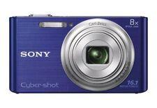 Blue Sony Cyber-shot Digital Cameras