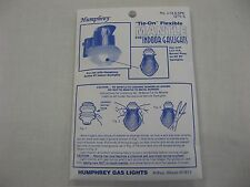 Humphrey Paulin Tie on Mantle 5 pack for gas light New