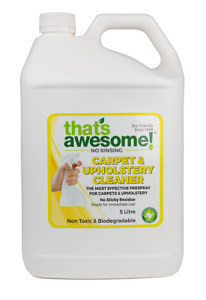 Carpet and Upholstery non toxic natural wool-safe Prespray 5 Litre Australian Ma