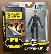 DC CATWOMAN Figure Batman The caped crusader 1st Edition 3 accessories