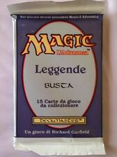 Magic The Gathering Sealed Italian Legends Booster Pack