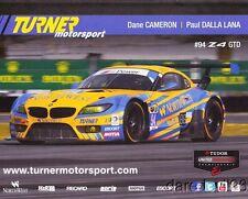 2014 Turner Motorsport BMW Z4 GTD IMSA TUSC postcard