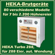 Heka TURBO 288 - Incubateur en plastique pour 288 oeufs, avec vollautomat. Twist
