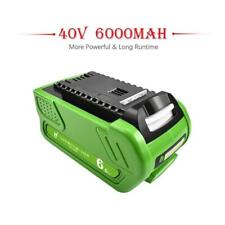40V 6000mAh Rechargeable Replacement Battery For Creabest 200W GreenWorks G-MAX