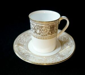 Beautiful Royal Doulton Sovereign Demitasse And Saucer