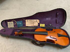 Vintage Antique Violin Early 1900's  4/4 Full Size + Case & More
