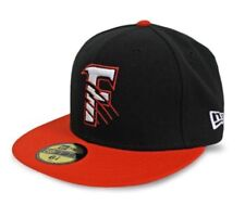 New Era Size 7 3/4 Fresno Grizzlies Orange/Black Road Hat Fitted Astros AAA NWT