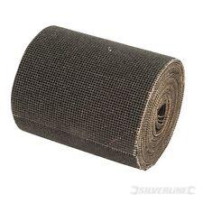 5m 80 Grit Sanding Mesh Roll - Silverline 634006