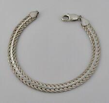 "7mm CDI Sterling Silver 8"" Fancy Link Bracelet; 15.05 Grams; Item# R550"