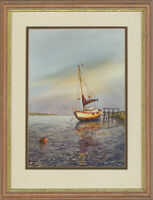 Peter Jones - Signed & Framed Contemporary Watercolour, Morning Light