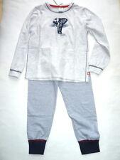 17 - garçons pyjama éléphant, gris de Sanetta gr.116-128