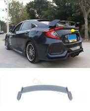 Factory Style Spoiler Wing ABS for 2016-2018 Honda Civic 4DR Sedan PU Type-R