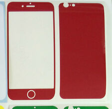 "iPhone 6 4.7"" 3M Coloured Glossy Vinyl Skin Sticker Package, Bumper + Protector"