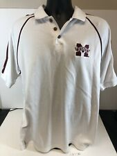 Mississippi State Large Polo Russell Athletic Dri Power D1