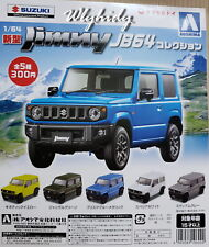 Miniatures SUZUKI New Jimmy JB64 Collection 5pcs Scale 1/64- AOSHIMA Capsule Toy