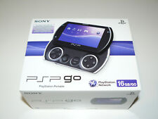 PSP Go Sony Playstation Portable 16GB Piano Black PSP-N1004 PB - NEU / OVP