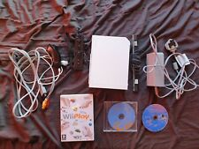 Nintendo Wii Console White with 3 Games