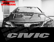 "Windshield Banner Decal 36"" Sticker For Honda Civic 36"" JDM"