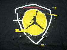 MICHAEL JORDAN No. 23 CHICAGO BULLS (2XL) T-Shirt SHIELD Black