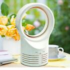Portable Bladeless Fan AirFlow Cooling Fan Mute Dedicated Leafless Home Office