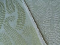 BY YD Scalamandre BOTANIQUE LEAF PALE GREEN FERN FOLIAGE MSRP$/188YD